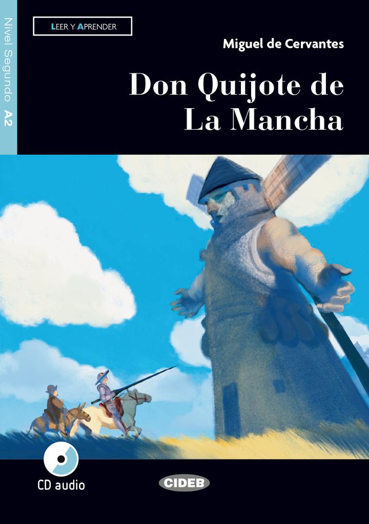 Don Quijote De La Mancha Miguel De Cervantes Graded Readers Spanish A2 Books Black Cat Cideb