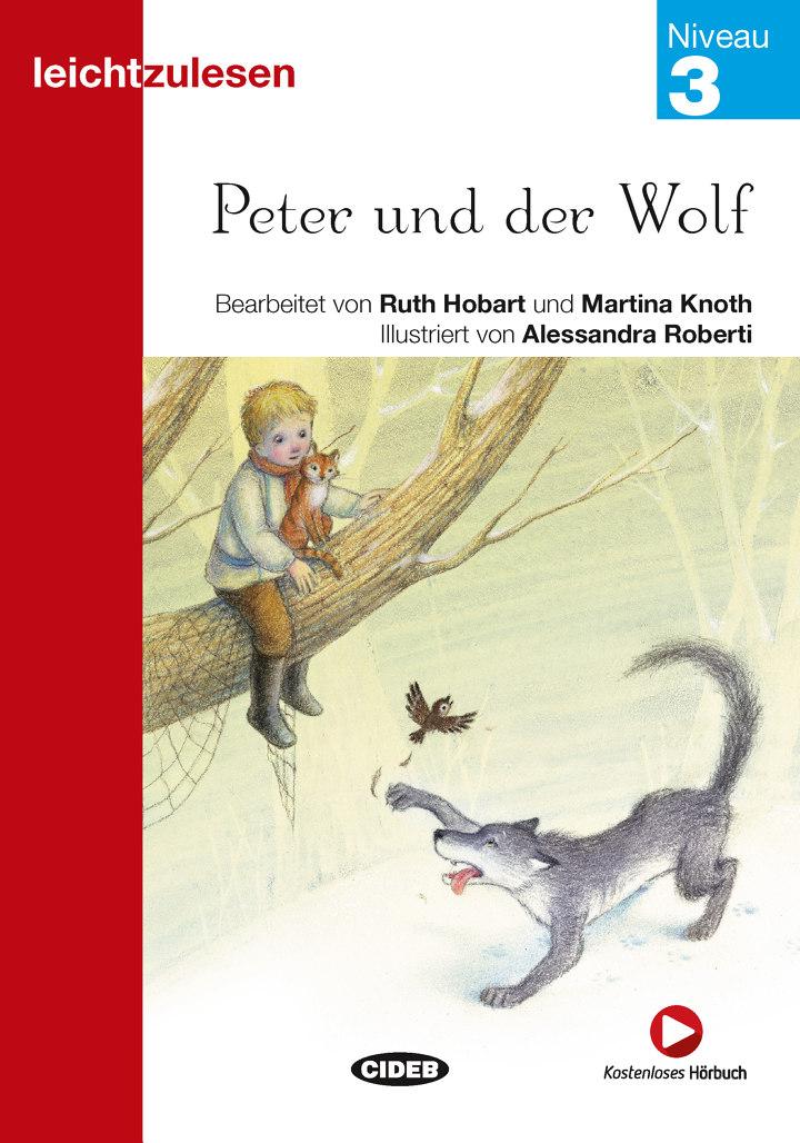 peter und der wolf  letture graduate  tedesco  niveau 3